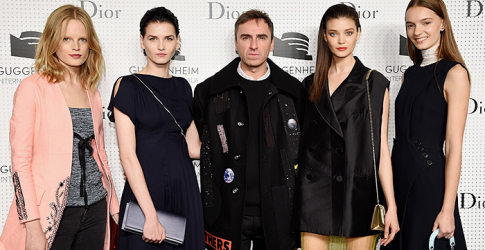The Dior & Guggenheim International Gala pre-party in New York