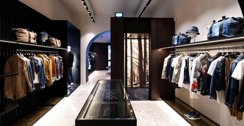 Dsquared2 opens flagship boutique in Rome