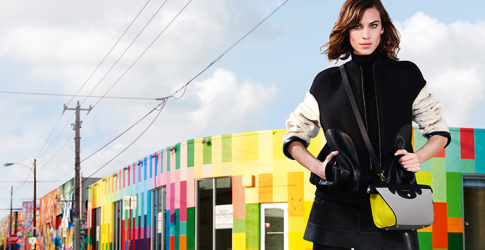 Alexa Chung fronts a new campaign for Longchamp