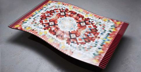 The floating carpet table
