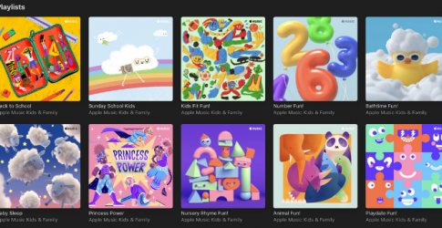 Apple Music adds new playlists for the kids in your life