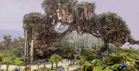 James Cameron gets a sneak peek at Disney's 'Avatar Land'