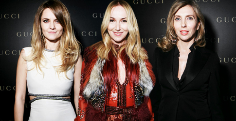 Gucci launches a new flagship in Moscow with a private dinner