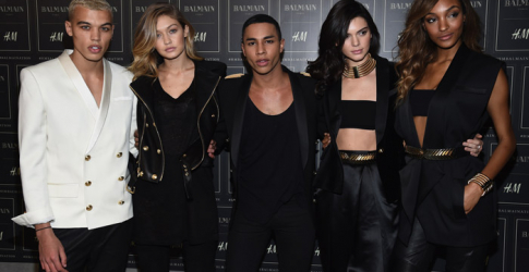 Balmain x H&M: The show