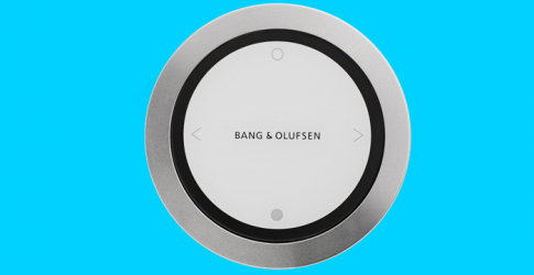 Bang & Olufsen introduces the one touch speaker
