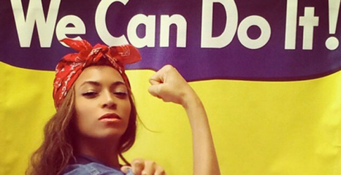 Beyoncé recreates iconic WWII 'We Can Do It' poster