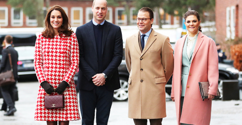 The British Royal Tour of Sweden: Day two