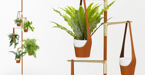 Louis Vuitton unveils new gold-plated plant pot design