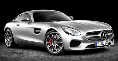 The new 2016 Mercedes-AMG GT
