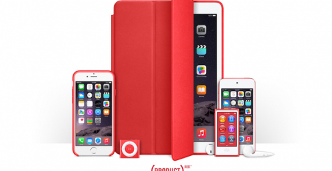 Apple launches the Red fundraising effort against AIDS