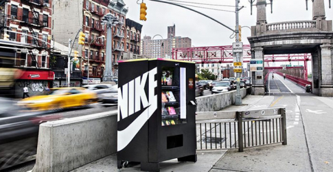 The Nike vending machine that only accepts 'NikeFuel' as payment