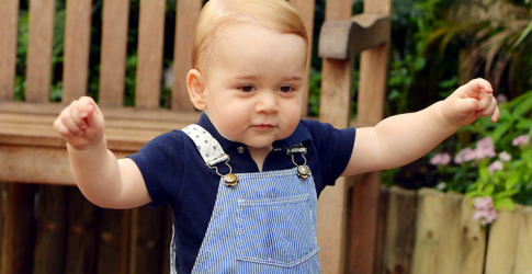 British royals release birthday image of Prince George of Cambridge
