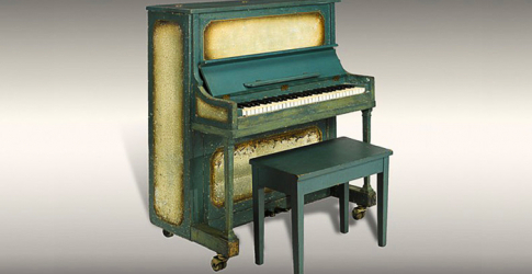 The piano featured in 'Casablanca' to go on sale at Bonhams