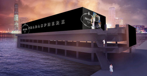 The Pradasphere exhibit launches in Hong Kong