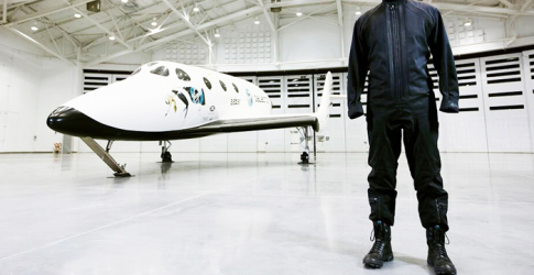 Y-3 goes to space with Virgin Galactic