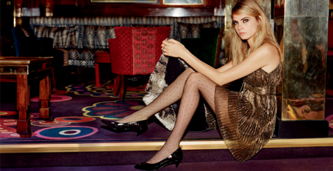 Full look: Cara Delevingne for Topshop's holiday campaign