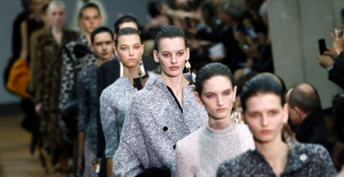 Céline shows its AW14 collection in Beijing