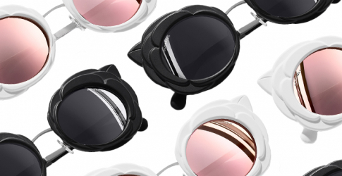 Eye-catching: Chanel's new eyewear collection