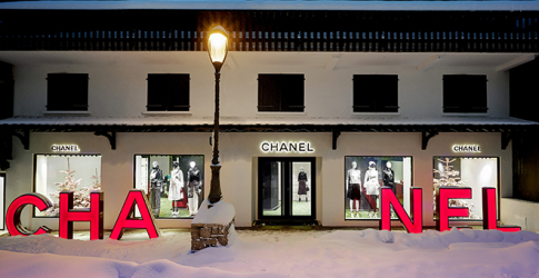 No one does a winter wonderland quite like Chanel