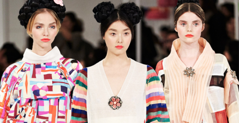 Karl Lagerfeld shows Chanel Cruise 2016 in South Korea