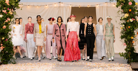A Chanel bride, a celebration and couture: Virginie Viard turns Haute Couture show into a family affair
