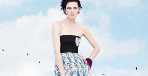 First look: Stella Tennant for Christian Dior spring/summer 2014