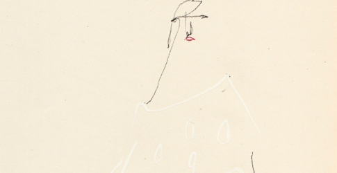 Haute Couture Dior drawings by Charles Jeffrey
