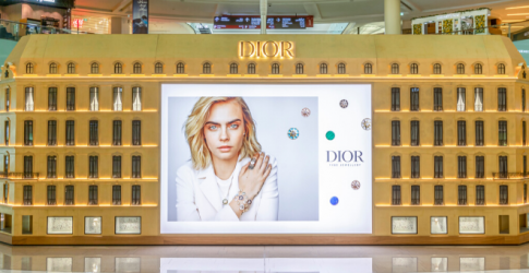 Inside Dior's Joaillerie and Horlogerie pop-up in The Dubai Mall