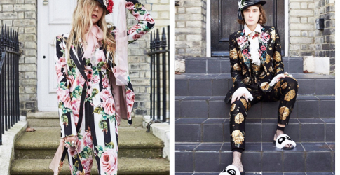 Dolce & Gabbana's millennials front new collection campaign in London
