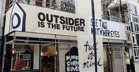 Dover Street Market store is moving to new London address