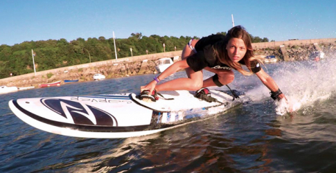 Surf's up: The electric surfboard that works without waves