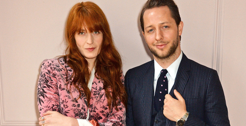 Florence Welch showcases new Gucci collection