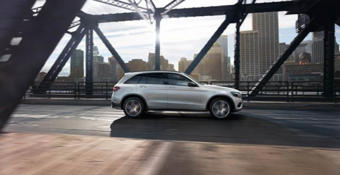 The Merc GLC cruises into the GCC