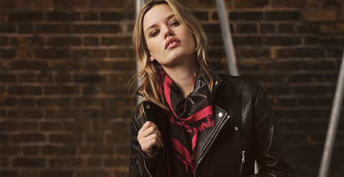 Cool Rider: Georgia May Jagger designs biker inspired collection with Mulberry