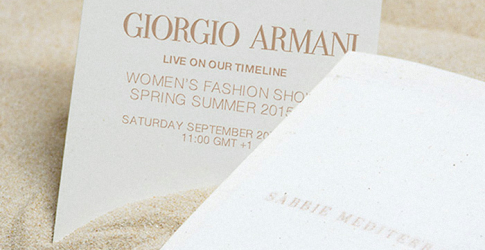 Live from Milan: Giorgio Armani Spring/Summer 15