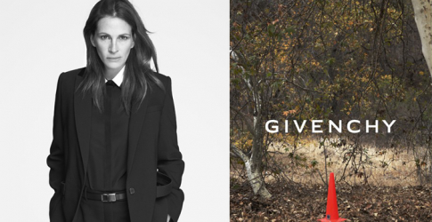 Julia Roberts stars in Givenchy's Spring 2015 campaign
