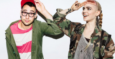 Grimes teams up with Bleachers for new track