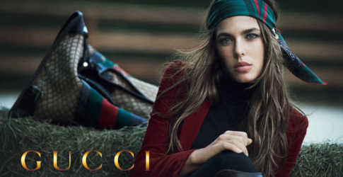 Gucci enlists Charlotte Casiraghi for cosmetics campaign