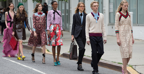 Gucci strides the streets of New York in new Cruise 2016 photo shoot