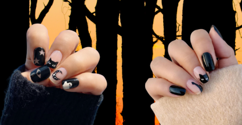 Get your spook on with these Halloween-inspired nails