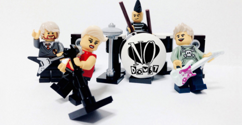 The world's most iconic bands recreated in Lego