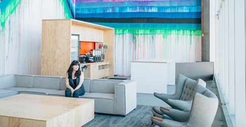 The first look inside Facebook's new Frank Gehry-designed HQ