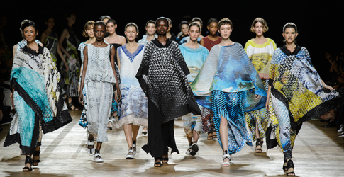 Paris Fashion Week: Issey Miyake Spring/Summer '18