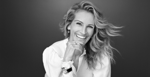 Julia Roberts fronts Chopard's new Pure Happiness campaign