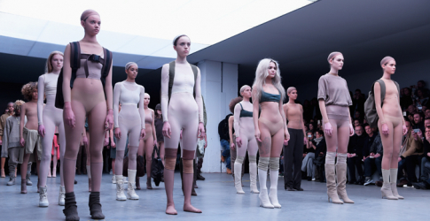 Lips sealed: Kanye West's models for Yeezy Season 2 are under $10 million secrecy agreement