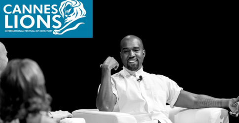 Kanye West talks technology in Cannes