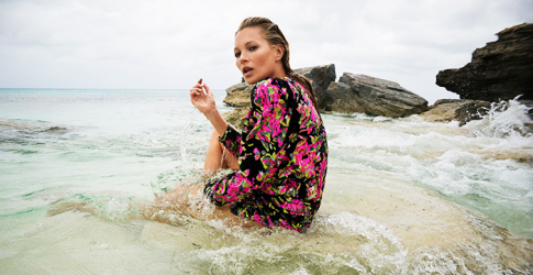 Kate Moss fronts Saint Laurent's new Winter '18 campaign