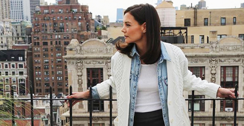 5 fashion rules we can all learn from the new queen of street style, Katie Holmes