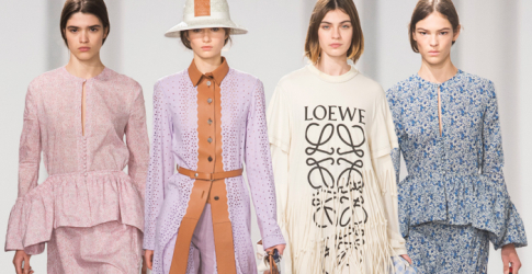 Paris Fashion Week: Loewe Spring/Summer '18