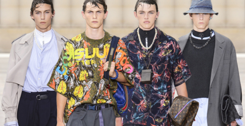 Men's Paris Fashion Week: Louis Vuitton Spring/Summer '18